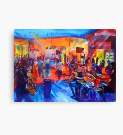 MASON RACK BAND - Agnes Tavern Nov 2015 Canvas Print