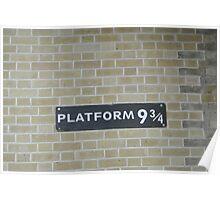Platform 9 and 3/4 Poster
