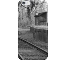Old railway station iPhone Case/Skin