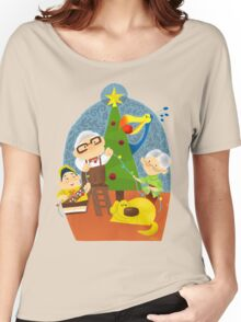 A very up christmas Women's Relaxed Fit T-Shirt