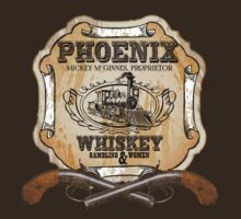 Hell on Wheels Inspired - Phoenix Saloon - Mickey McGinnes - Bohannon - Union Pacific Railroad - 1866 Nebraska - AMC Hell On Wheels T-Shirt