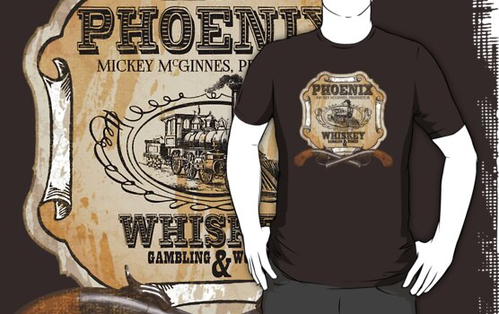 Hell on Wheels Inspired - Phoenix Saloon - Mickey McGinnes - Bohannon - Union Pacific Railroad - 1866 Nebraska - AMC Hell On Wheels by traciv