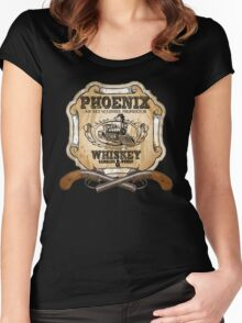 Hell on Wheels Inspired - Phoenix Saloon - Mickey McGinnes - Bohannon - Union Pacific Railroad - 1866 Nebraska - AMC Hell On Wheels Women's Fitted Scoop T-Shirt
