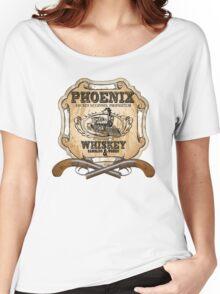 Hell on Wheels Inspired - Phoenix Saloon - Mickey McGinnes - Bohannon - Union Pacific Railroad - 1866 Nebraska - AMC Hell On Wheels Women's Relaxed Fit T-Shirt