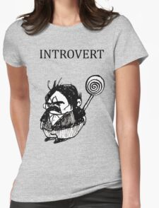 Introvert Womens Fitted T-Shirt
