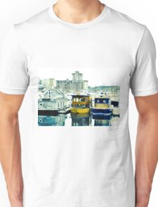 Boat houses in Vancouver Unisex T-Shirt