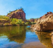 Katherine Gorge by Stephen Swayne