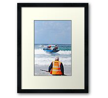 Thundercats at Fistral 1 Framed Print
