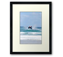 Thundercats at Fistral 3 Framed Print