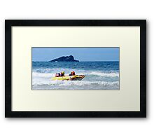 Thundercats at Fistral 6 Framed Print