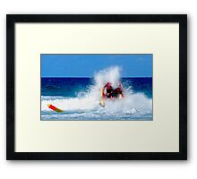 Thundercats at Fistral 10 Framed Print