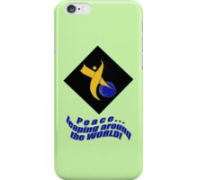 PEACE Around the World iPhone Case/Skin
