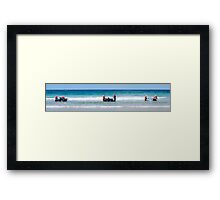 Thundercats at Fistral 14 Framed Print
