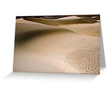 Desert Dune Greeting Card