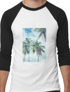 Palm Trees 2 Men's Baseball ¾ T-Shirt