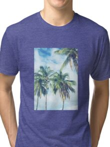 Palm Trees 2 Tri-blend T-Shirt