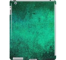 Abstract iPad Case Vintage Retro Cool Green New Grunge Texture iPad Case/Skin