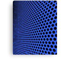 INFINITE DOTS-BLUE Canvas Print