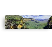 Queen Victoria Lookout Panorama Canvas Print