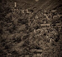 Castello di Comano by Nigel Fletcher-Jones