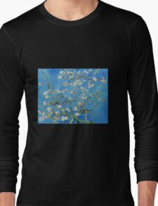 Vintage Vincent Van Gogh Almond Blossoms Long Sleeve T-Shirt
