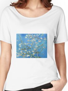 Vintage Vincent Van Gogh Almond Blossoms Women's Relaxed Fit T-Shirt