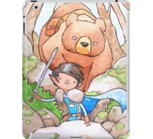 A Boy and his Bear iPad Case/Skin