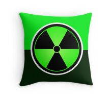 The Hulk Logo Symbol Throw Pillow