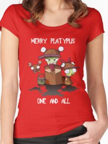 Merry Platypus Women's Fitted Scoop T-Shirt