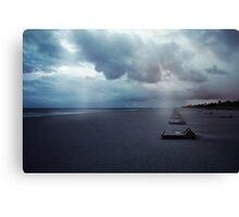 Delray Twilight Canvas Print