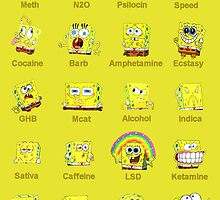 Spongebob Squarepants is on Drugs! by miki1510