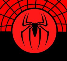 Spiderman Logo Symbol by DEADCuteUK