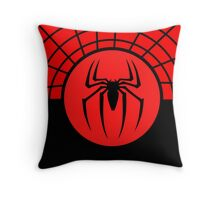Spiderman Logo Symbol Throw Pillow