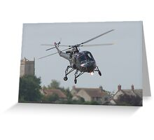 Westland Wasp Greeting Card