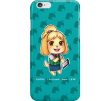 Animal Crossing New Leaf - Isabelle iPhone Case/Skin