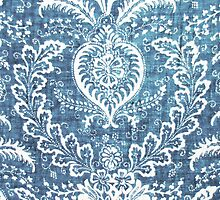 Blue & White Pattern by melaniewoon