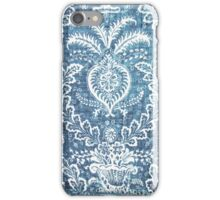 Blue & White Pattern iPhone Case/Skin