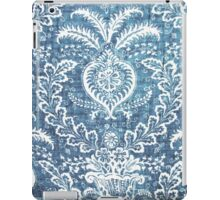 Blue & White Pattern iPad Case/Skin