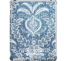 Blue & White Pattern iPad Case/Skin