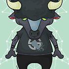 Gerard, the Buffalo by Monstruonauta