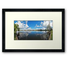 Panorama | Lake Burley Griffin Framed Print