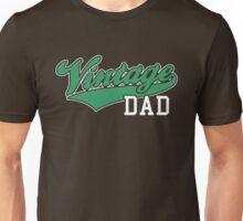 Vintage DAD 2C Design Green/White Unisex T-Shirt