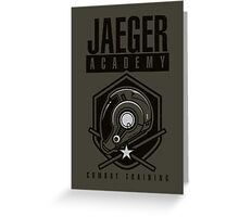 Jaeger Academy Greeting Card