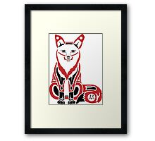 Mahkesis - Fox Framed Print