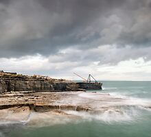 Storms at Portland Bill by Chris Frost Photography
