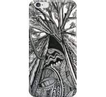 Regal A Tree Ink Drawing iPhone Case/Skin