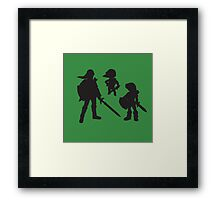 The Three Links - The Young, Toon, and Old Framed Print