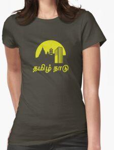 Tamil Nadu (Tamil Language T-shirt) Womens Fitted T-Shirt