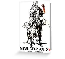 Metal Gear Solid Greeting Card