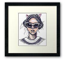 Cat's Meow Framed Print
